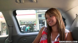 Latina teen Suzan gets her tits licked