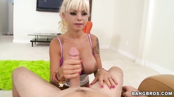 Sweet blowjob done by Delta White on tape