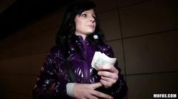 Czech Maja likes to suck dicks for green dollars