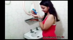 Hot Indian girl sucks cocks and fucked .