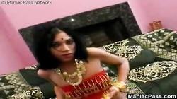 Pleasure with hot Indian teeny