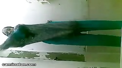 Indian Girl Showering Spy Video