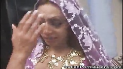 Stripped Indian Honey Fucked In A Threesome