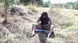 Indian amateur Kikis public nudity and outdoor masturbation of chubby