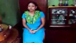 Hot Indian Cute Aunty prepare herself to fuck her Customer