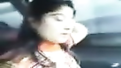 PAKISTANI - Cute College Girl Nimra with Bd in His CAR