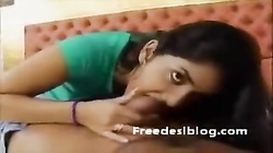 Cute Indian teen knows how to suck cock