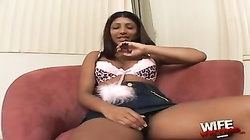 Hot indian wife go black