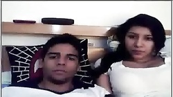 indian aunty and a young guy