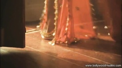 Sexy Indian lady doing the  traditional sexual belly dancing