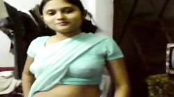 Young Indian Girl On Display