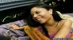 Indian teeny loves big boners