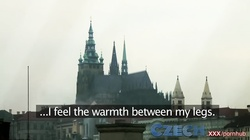Czech Redhead sex addict takes young girl off the street