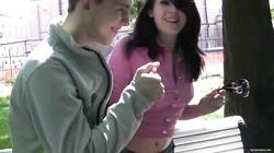 Sex with Dina - beautiful russian teen