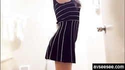 Fucking Chinese amateur with beautiful legs from back homemade video