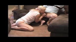sexy blonde college girl fucked at homemade