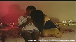 Married Indian pair homemade making love