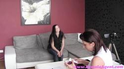 FemaleAgent HD Shy beauty takes the bait