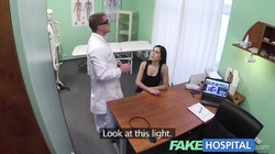 Fake Hospital Squirting MILF gets a creampie injection
