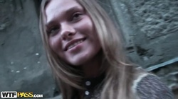 Willa in amateur girl with blonde hair sucks and fucks