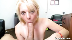 Missy Mathers Can Suck A Rock Through A...
