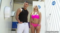 Carol Ferrer in Hot Blonde Latina With A Big Ass