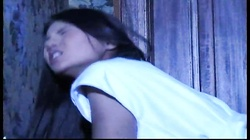 European girl gets fucked in the ass hard