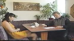 teen german fuck in restaurant