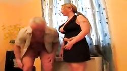 German Bitch wank timer