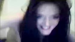 Amateur Brunette Webcam Slut 02