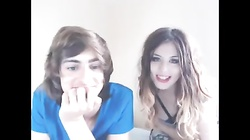 Cute British Young Folks on Cam