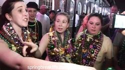 Mardi Gras Girls Flashing