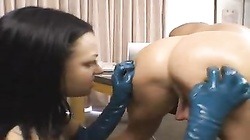 Belladonna fucked in the ass with strapon