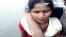 North Indian Haryana village girl boobs pressed outdoor