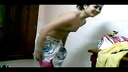 Shy Petite Indian Wife Secretly Recorded While Changing