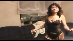 hot milf strip & tease