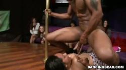 Dick-swallowing beauties are giving juicy deep blowjob