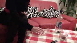 Butthole fucking and deepthroat blowjob by a brunette who needs cash