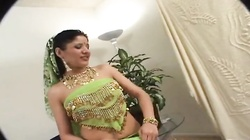 Sexy Indian girl in hardcore casting