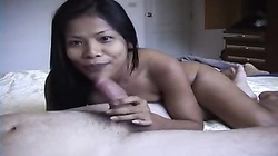 Young Thai Girl Gets Facial
