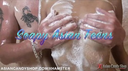 Soapy Asian Teen Sex Massage