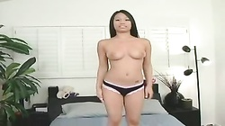sweet asian girl fucking black cock