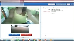 Chatroulette Girl Show Tits And Connection Error Before Cum