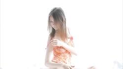 Hot skinny teen sister masturbate alone