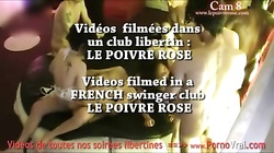 Camera espion en soiree privee ! French spycam183