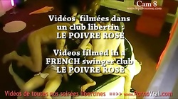 Camera espion en soiree privee ! French spycam185