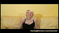 blonde french teens first big cock casting