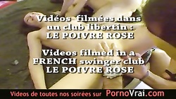 Camera espion en soiree privee ! French spycam197