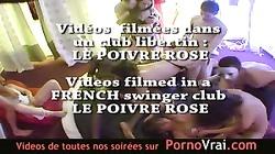 Camera espion en soiree privee ! French spycam198