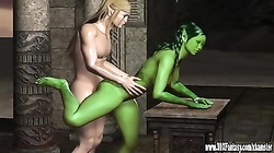Hot 3D cgi Babes in Hardcore action